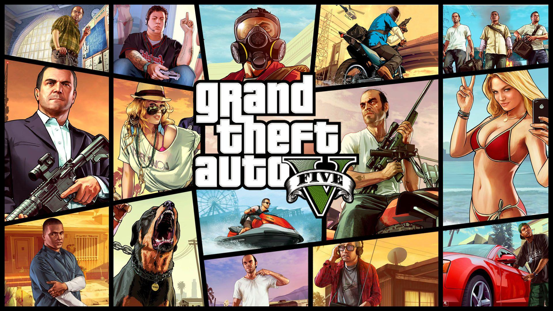 Grand Theft Auto V 5 (GTA 5) CD Key + Crack PC Game Free Download